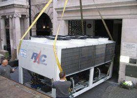Air Cooled Water Chiller Instalation